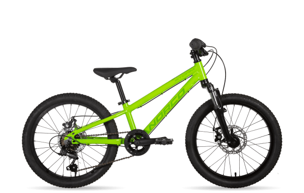 norco storm kids mountain bike with forks